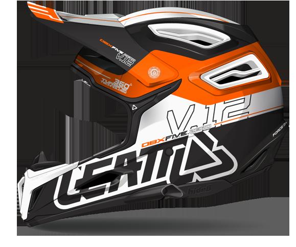 V.12 White/Orange/Black